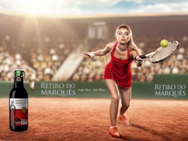 Mulher tenis